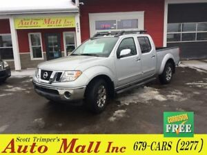 2014 Nissan Frontier SL/Leather/Sunroof/Htd Seats