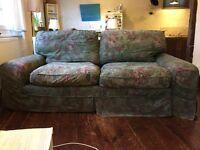 Very comfortable Tetrad 2 -Seat Sofa in luxury heritage print machine washable fabric