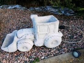 Concrete Digger Planter Garden Ornament