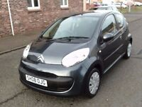 2008 08 CITROEN C1 1.0 RHYTHM ** £20 ROAD TAX ** ONE OWNER ** FULL SERVICE HISTORY ** 12 MONTH MOT *