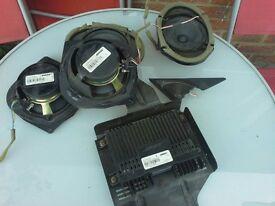 Mazda 6 Bose Audio system speakers + amplifier