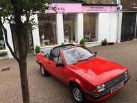 Mk3 Escort Cabriolet 1.6 GL
