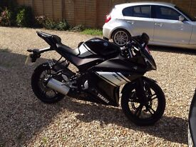 YAMAHA YZF R125 LEARNER LEGAL MOTORBIKE FOR SALE