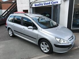 2002 52 Peugeot 307 Estate 1.6 *Automatic* *Low Mileage* Broad Street Motor Co