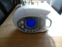 SWAN STM100RADN TEASMADE (MODERN) WITH BUILT-IN AM/FM RADIO AND AUX INPUT