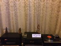 YAMAHA TURNTABLE SET UP