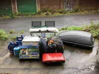 Camping Equipment inc' Roof Box