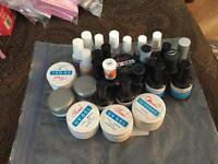 All gels and builder gel and top coat