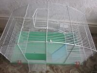 Hamster Cage, travel carrier, wheel and various other accessories