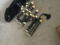 RG Lawrie Bagpipes Full Ivory