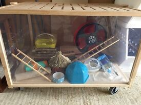 Living World Eco Habitat - Small For hamsters & all small animals. Cage/Home plus extras!