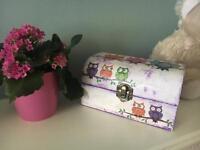 Handmade decorated box