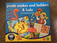 Orchard Toys - Pirate Snakes and Ladders / Ludo