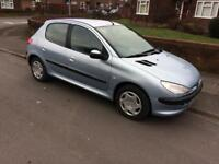 Peugeot 206 1.4 Petrol mot until 5/nov/18