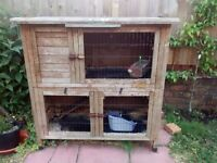 Rabbit hutch free to collector BS7