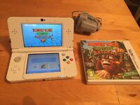 Nintendo 3Ds Console with Donkey King game