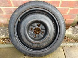Spare wheel with good tyre