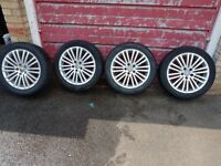 "Genuine bbs alloy wheels 17"" inch"