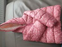 girls pink coat 12-18 months