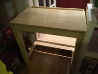 Birch Desk in immaculate condition and ideal for children