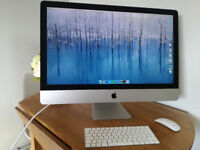 iMac (late 2015) . 27in screen. Retina 5k Display. 32GB Memory. QC i5 Processor. Perfect condition.