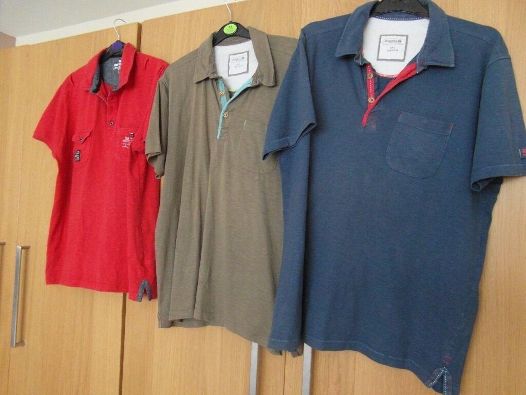 3 Polo Shirts Bundle Regatta Matalan Mens Polo Shirt