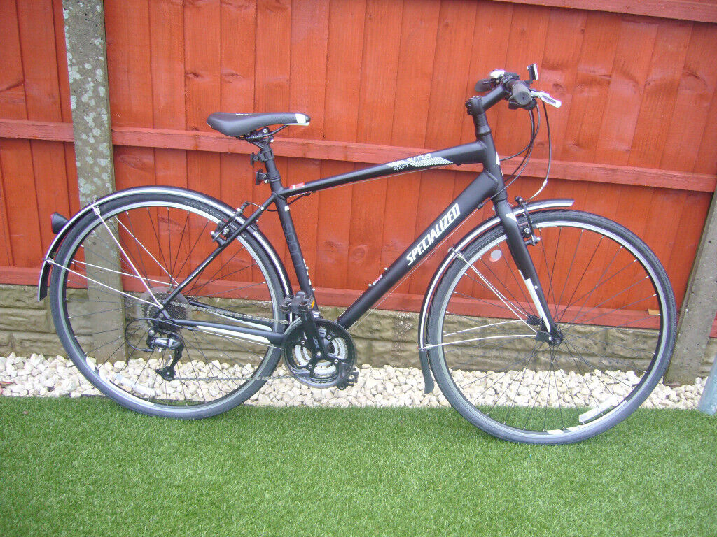Mens Specialized Sirrus Sport hybrid bike