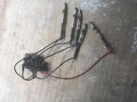 Vw bora V5 ignition coil coil pack ht leads