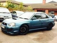 Subaru impreza wrx one off show car