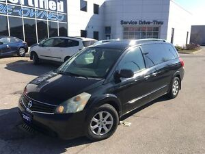 2007 Nissan Quest 3.5 S AUTO CRUISE A/C PWR GROUP