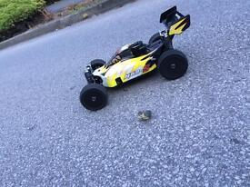 Nitro car (Nanda racing)