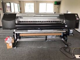 Large Format Printer OKI - W-64s with GX Neon inks