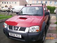 nissan navara D22 pick up 2.5 ltr 2004