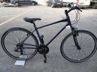Raleigh Strada 1 Brand New Hybrid Sports Leisure Commuting Bike Suspension Forks