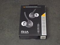RHA T20i High-Fidelity Noise-Isolating In-Ear Headphones