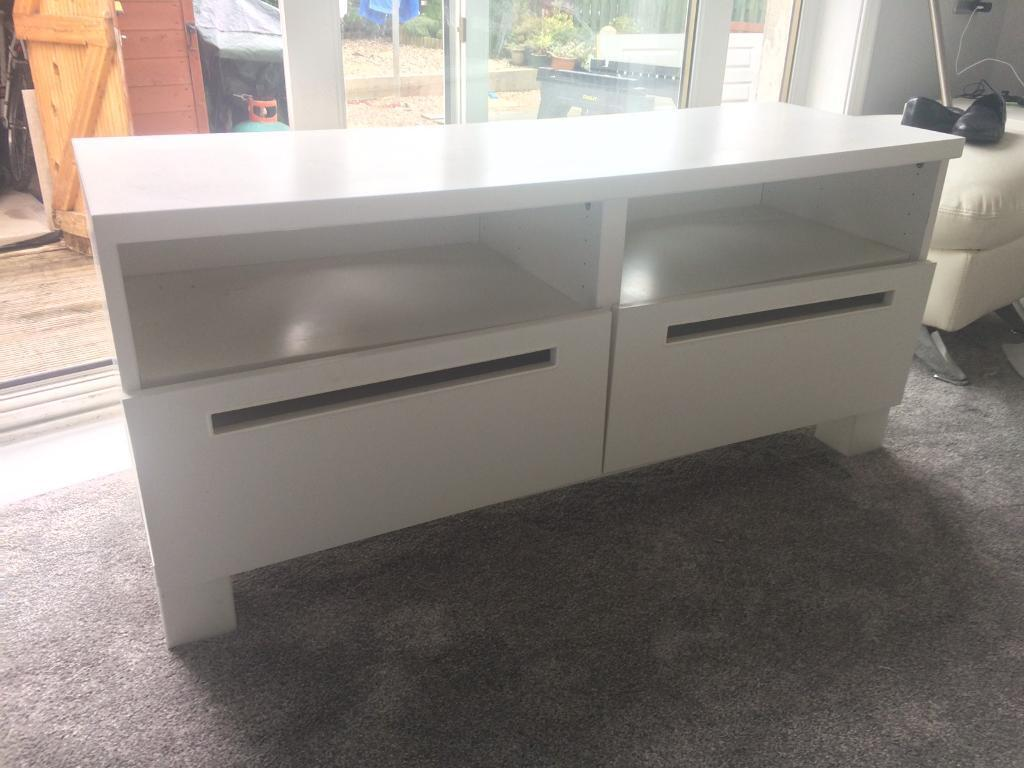 Ikea Tv Stand With Drawers In Corstorphine Edinburgh Gumtree # Meuble Tv Kaorka Ikea