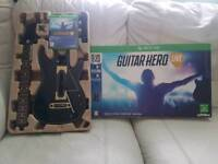 Boxed Guitar Hero Live xbox one
