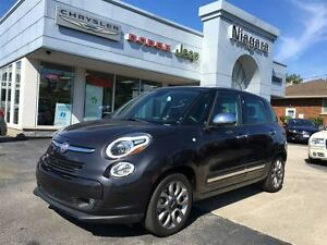 2015 Fiat 500L LOUNGE,LEATHER,PANOROOF,ALLOYS