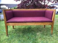 Hall Bench - Conservatory Bench - Pub Bench - Sofa - Good Condition - Reduced