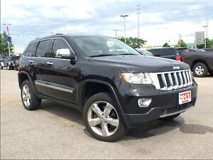 2013 Jeep Grand Cherokee OVERLAND**AIR SUSPENSION**5.7L HEMI**