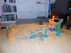 "Thomas the tank engine ""take along"" Sodor carnival fun fair set"