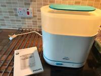 Philips Avent Steriliser - like new, rarely used due to breastfeeding