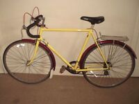 """Classic/Vintage/Retro Claud Butler (Reynolds 531) (23.5"""" frame) Racing/Road Bike (will deliver)"""