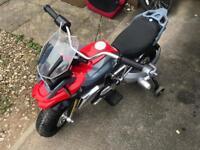 BMW motorbike ride on