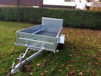 New Trailer 8.7 x 4.2 with ramp - £950 inc vat