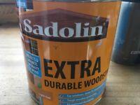 Sadolin Extra Durable Woodstain - Light Oak