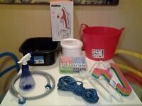 WASHING, DRYING AND IRONING ACCESSORIES - ALL NEW AND UNUSED