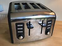 Breville Four Slice Toaster VGC 4 Stainless Steel