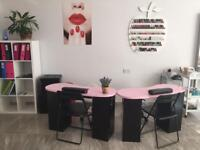 Nail Technician Self Employed/Beauty room for RENT in salon