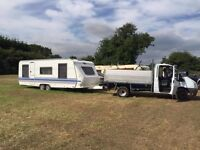 Caravan excellent condition inside a few age related marks on the outside